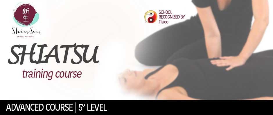 Shiatsu 5° Level Advanced Course