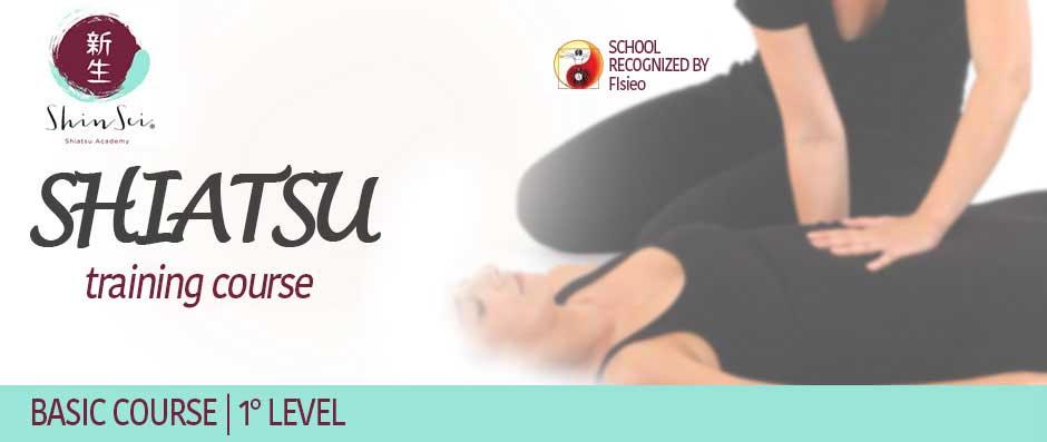 Shiatsu 1° Level Basic Course