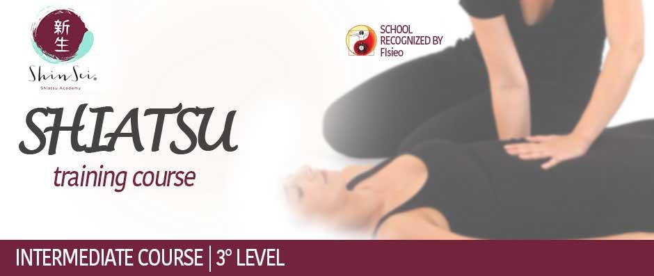Shiatsu 3° Level Intermediate Course