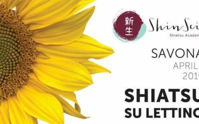 Shiatsu su lettino – Seminario Genova